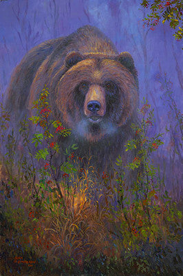 Mountain Ash Grizzly, by artist Allen Jimmerson - Montana Living