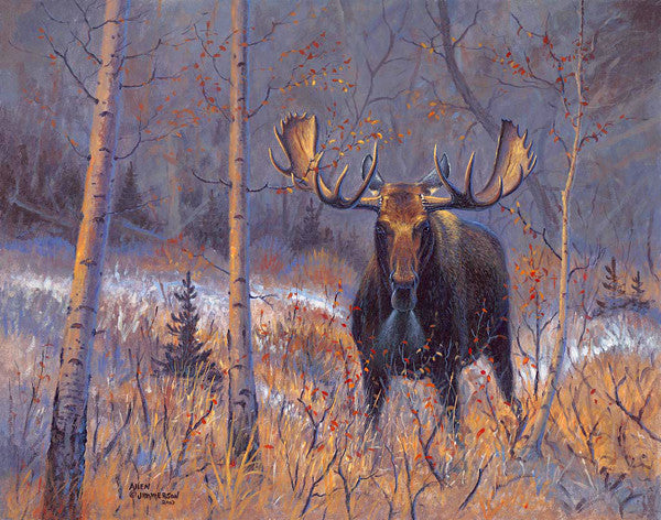 The Challenge, by artist Allen Jimmerson - Montana Living