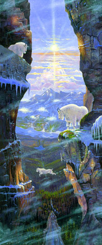 Goat Country, by artist Allen Jimmerson - Montana Living
