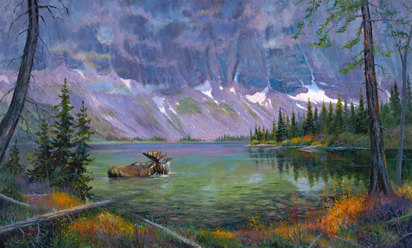 Hidden Mountain Splendor, by artist Allen Jimmerson - Montana Living