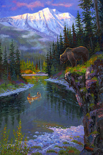 Into the South Fork, by artist Allen Jimmerson - Montana Living