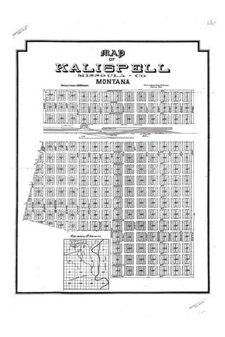 Map of Kalispell - Montana Living