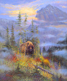 King of the Hill giclee print, by artist Allen Jimmerson - Montana Living
