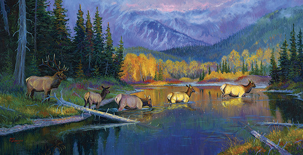 Ladies First, by artist Allen Jimmerson - Montana Living