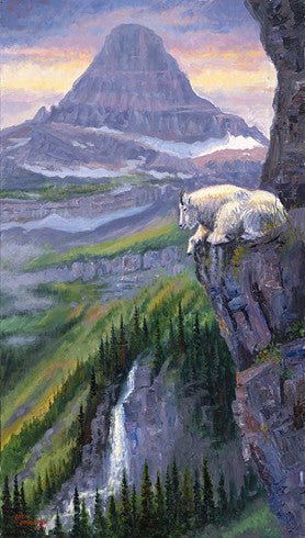 Living on the Edge, by artist Allen Jimmerson - Montana Living