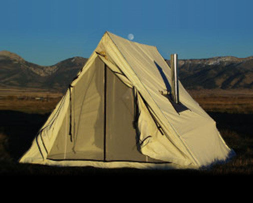 Wedge Tent from Montana Canvas - Montana Living