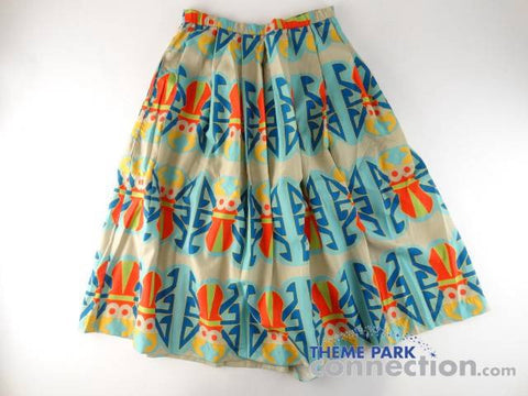 Disney World Animal Kingdom Discovery Island Cast Member Wardrobe Costume Skirt