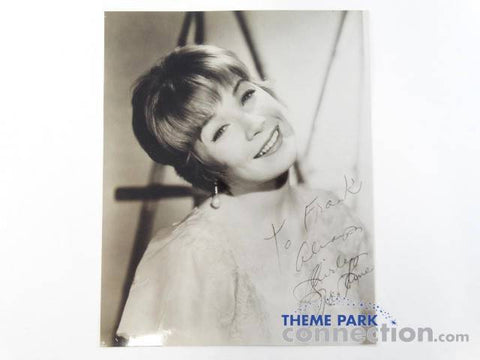 Shirley Maclaine Autographed Black & White Photograph