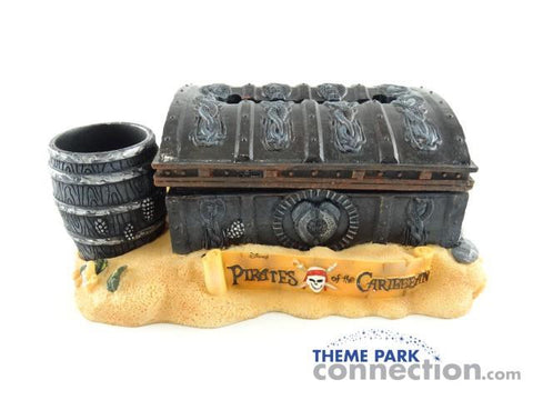 Disney Parks Pirates Of The Caribbean Notepad & Pen Holder