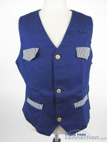Disney Animal Kingdom Wildlife Express Cast Member Wardobe Costume Vest
