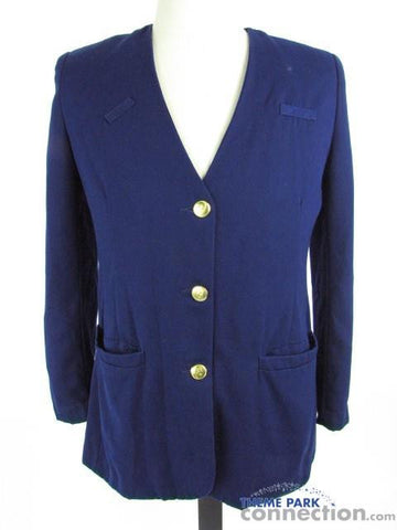 Disney World VIP Tour Guide Cast Member Wardrobe Women's Costume Blazer