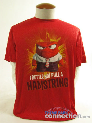 RunDisney Inside Out Anger Unisex Polyester Tech Shirt