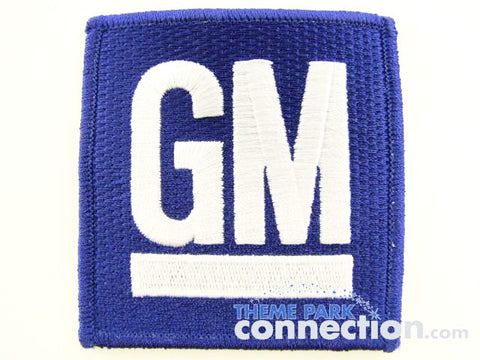 Walt Disney World Retired Test Track GM Cast Costume Patch