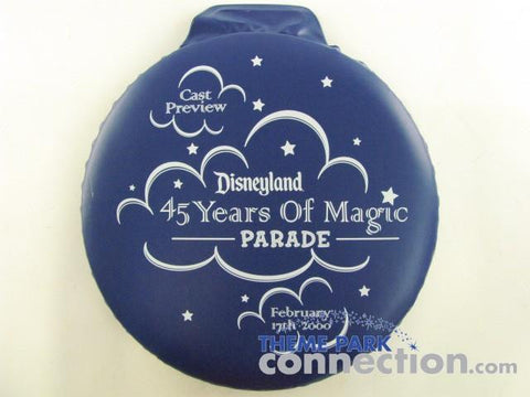 Disney 2000 Disneyland 45 Years Of Magic Parade Cast Preview Seat Cushion