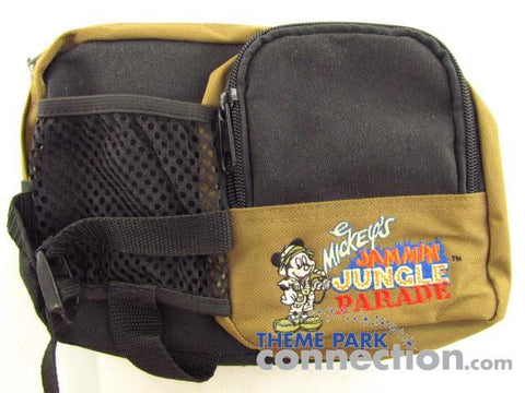 Disney World Animal Kingdom Mickey's Jammin' Jungle Parade Waist Bag