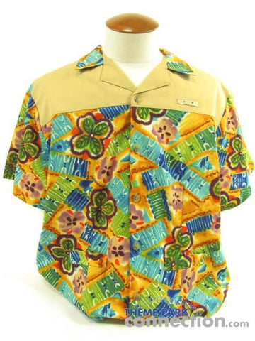 Walt Disney World Polynesian Resort Cast Member Costume Shirt