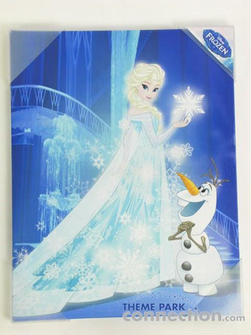 Disney Pictures Frozen Elsa & Olaf Canvas Art Print