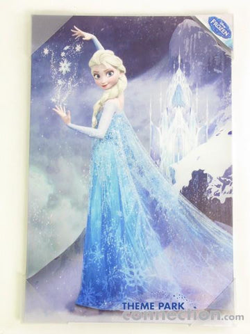 "Disney Pictures Frozen Elsa ""Ice Princess"" Canvas Art Print"