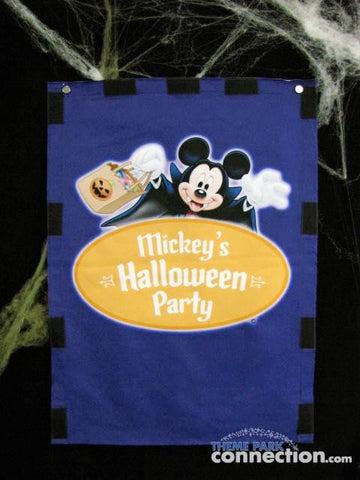 Mickey's Halloween Party Disneyland Resort Miniature Park Banner