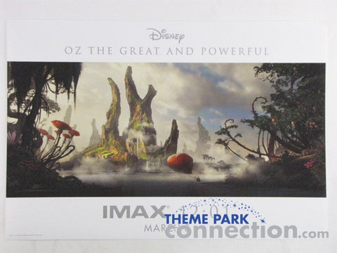 Disney OZ THE GREAT AND POWERFUL 2013 Opening Night IMAX MIDNIGHT SCREENING EXCLUSIVE Movie Poster