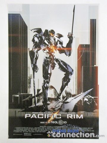 "PACIFIC RIM Regal Cinemas Exclusive 2013 11.5""x17"" One Sheet Movie Poster"