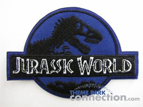 JURASSIC WORLD Tyrannosaurus Rex Logo 2015 Movie Prop Replica Uniform Cosplay Embroidered Patch