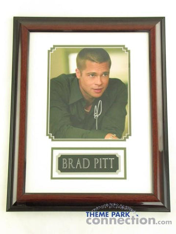 "BRAD PITT SIGNED Original Autograph 19""X15"" Framed Photo Photograph Display"