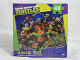 Teenage Mutant Ninja Turtles 48 Piece Ultra Foil 15x11 TMNT Puzzle Toy