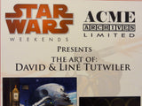 Disney Hollywood Studios STAR WARS WEEKENDS Acme Archives Artist Event Park Displayed Sign