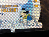 Tokyo Disney Sea 2001 Grand Opening Cast Member Exclusive Holographic Foil Decal