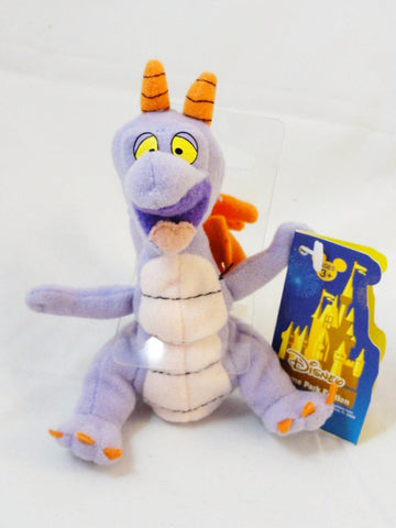 Disney Theme Park Edition FIGMENT Rare Park Exclusive Plush Finger Puppet Toy