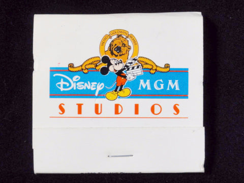 Disney MGM Studios Vintage 1989 Park Exclusive Matchbook