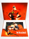 Disney Store Exclusive Retired 2004 Pixar THE INCREDIBLES 4 Piece Lithograph Art Print Set