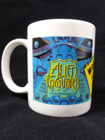 Walt Disney World Retired Theme Park Exclusive ALIEN ENCOUNTER Color Changing Mug