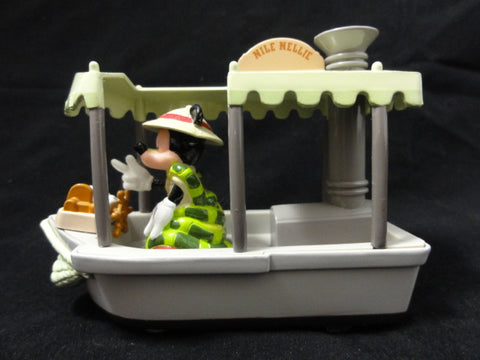 Disney Theme Park Collection JUNGLE CRUISE Nile Nellie Mickey Mouse Kaa Die Cast Vehicle Toy