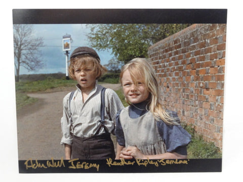 Chitty Chitty Bang Bang Jeremy & Jemima Actors Adrian Hall Heather Ripley SIGNED Autograph 8x10 Photo