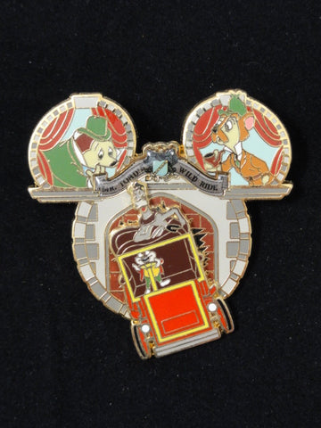 Disneyland Limited Edition 1000 MR. TOAD'S WILD RIDE Disney Dreams Collection Retired 2008 Pin