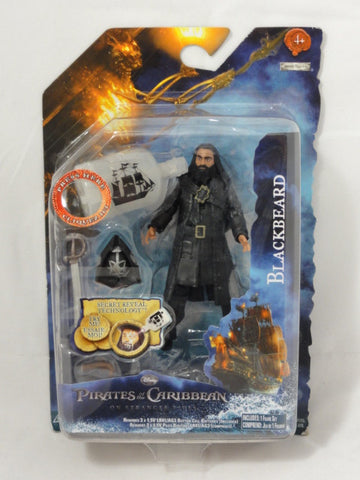 Disney Jakks Pacific Pirates Of The Caribbean On Stranger Tides 2011 BLACKBEARD Secret Reveal Action Figure