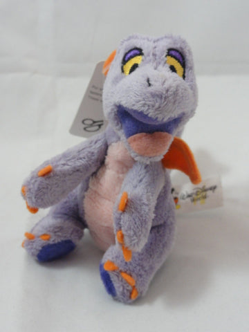 Walt Disney World Park Exclusive FIGMENT Magnetic Magnet Paws SOFT Plush Toy