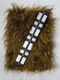 Disney Store STAR WARS Chewbacca Journal Diary Hardcover Furry Wookie Book