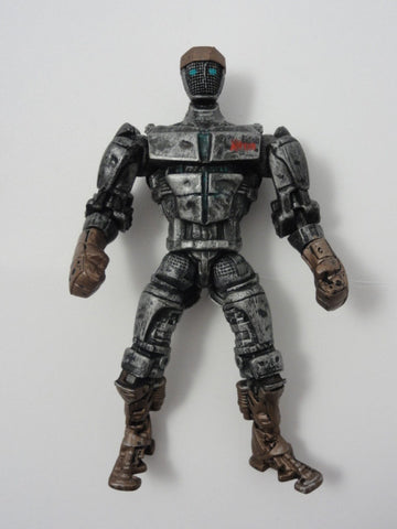 "Jakks Pacific Toy REAL STEEL 2011 Retired 5"" ATLAS Light-Up Action Figure"