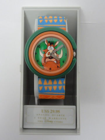 Disney Store The Lion King Rare Retired PUMBAA Watch