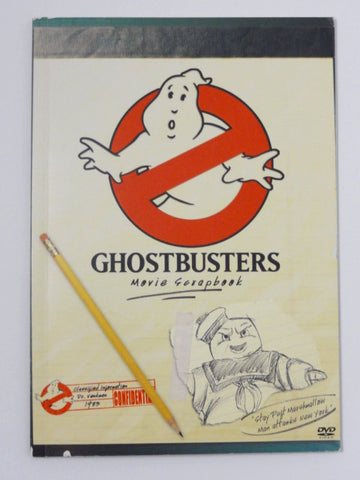 GHOSTBUSTERS DVD Set Exclusive 2005 Movie Scrapbook