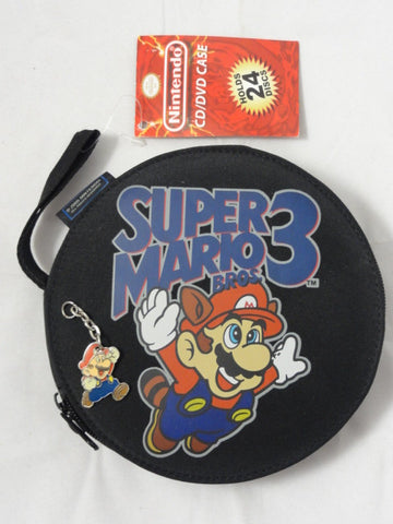 New Official Nintendo 2005 SUPER MARIO BROS 3 CD DVD Wii Wiiu Toy Video Game Wallet Case