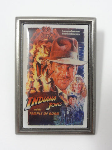 Disney INDIANA JONES AND THE TEMPLE OF DOOM 2001 WDW Movie Poster Pin
