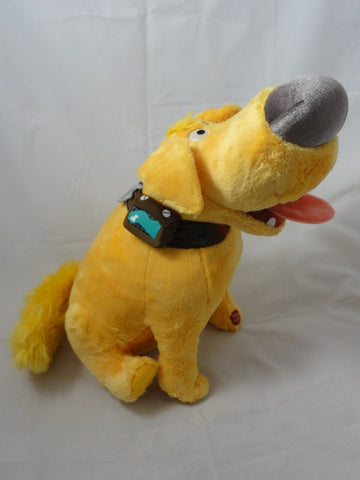 "Disney Store Pixar UP Dug 15"" Dog Character Plush Toy"