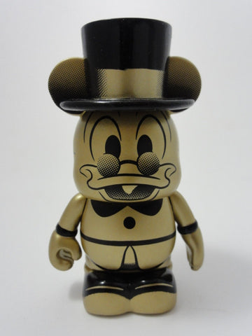 "Disney 3"" Vinylmation 2014 Trading Night Series Limited Edition 450 GOLD SCROOGE MCDUCK Figure"