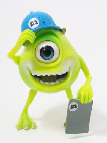 Disney Pixar MONSTERS INC. Talking MIKE WAZOWSKI 2001 Hasbro Toy Action Figure