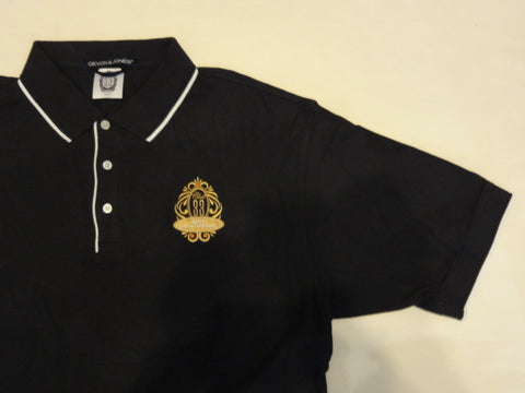 Disneyland CLUB 33 Exclusive Retired Limited 40th Anniversary Embroidered Polo Shirt