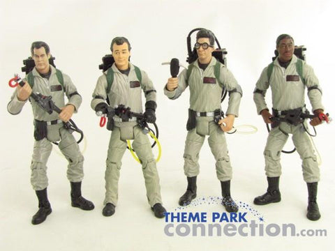 Matty Collector GHOSTBUSTERS Venkman Egon Ray Winston 4 Action Figure Toy Lot